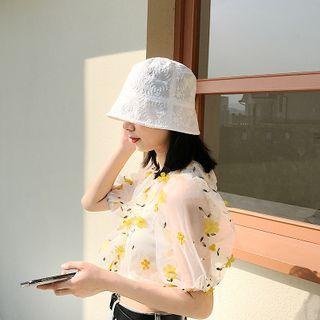 Bucket | White | Size | Hat | One