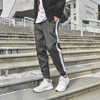 Contrast Trim Sweatpants 1056528961