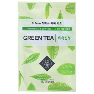 Image of Etude House - 0.2 Therapy Air Mask 1pc (23 Flavors) Green Tea