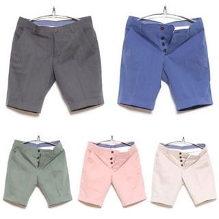 Buy SLOWBABA Cotton Shorts Beige – L 1022845410