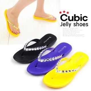 Buy Miz shoes Beaded Flip Flops 1022888440