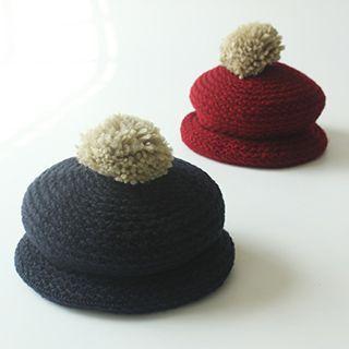 Knit Bobble Beanie 1045996299