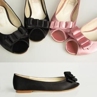 Picture of Getme Peep Toe Flats 1022558646 (Flat Shoes, Getme Shoes, Korea Shoes, Womens Shoes, Womens Flat Shoes)