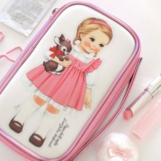 """""""Paper Doll Mate"""" Series Make Up Pouch - (M)"""