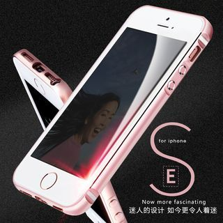 Set: Bumper + Front & Back Protective Film + Tempered Glass Screen Protective Film - iPhone SE / 5S 1060755903