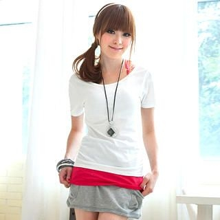 Buy Tokyo Fashion Drawstring Jersey Miniskirt 1022744517