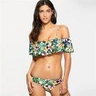Ruffle Patterned Bikini 1596