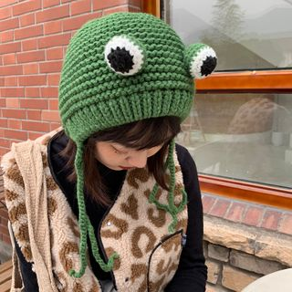 Image of Frog Wool Ear Protection Hat