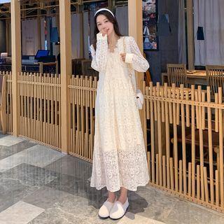 Long-sleeve | Maternity | Dress | Lace