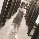 Set: Maternity Top + Lace Jumper Dress 1596