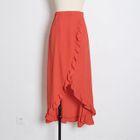 Frill Trim Maxi Skirt 1596