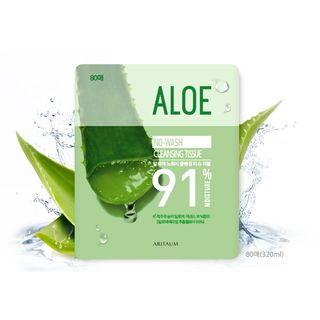 Image of Aritaum - Aloe No Wash Cleansing Tissues Refill Only (80pcs) 80pcs