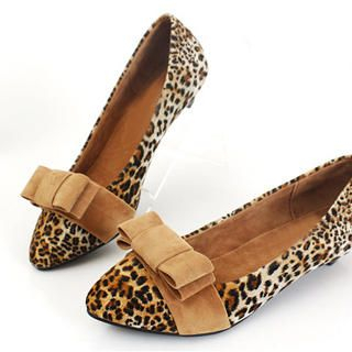 Picture of KAWO Bow Leopard Printed Kitten-Heels 1022761117 (Other Shoes, KAWO Shoes, China Shoes, Womens Shoes, Other Womens Shoes)
