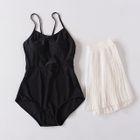 Set : Plain Swimsuit + Cover-up 1596