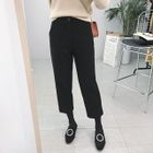 Cropped Straight-Leg Pants 1596