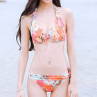 Set: Floral Print Bikini + Cover-Up 1596