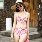 Set: Printed Bikini + Cover-Up Dress 1596