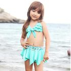 Set: Kids Bikini Top + Swim Skirt 1596