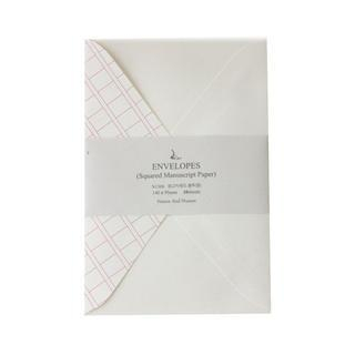 Squared Manuscript Paper Envelope Set - (M) 1044813033
