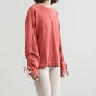 Long-Sleeve Ribbon Top 1596