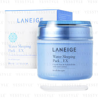 Water Sleeping Pack_EX (for all skin types) 80ml