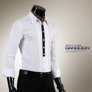 Buy DANGOON Pintuck Front Dress Shirt 1021247577
