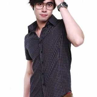 Picture of BLUE HOMME Check Shirt 1022728919 (BLUE HOMME, Mens Shirts, Korea)