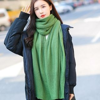 Ribbed Knit Scarf 1056829852
