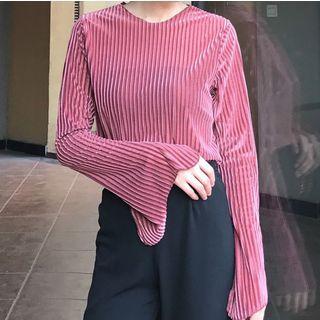 Ribbed Long-Sleeve T-shirt 1062227132