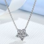 Rhinestone Star Necklace 1596