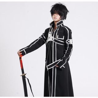 Sword Art Online Kirito Cosplay Costume 1037886347