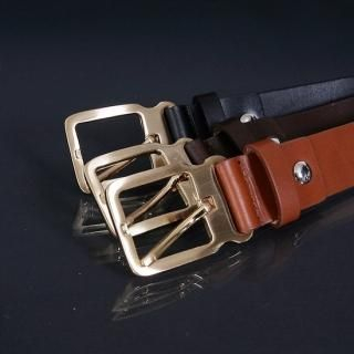 Buy ISNOM Faux Leather Belt 1022027091