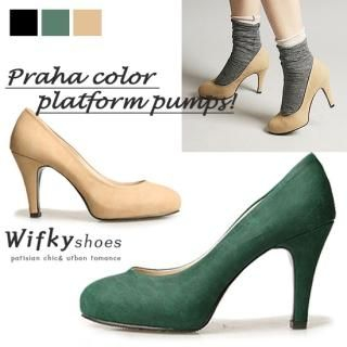 Buy Wifky Faux-Leather Pumps 1023055157
