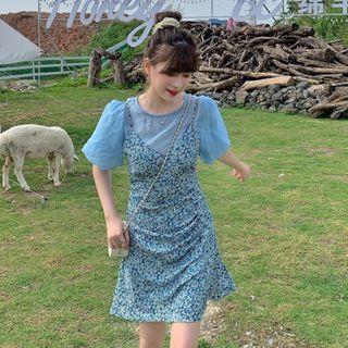 Floral | Dress | Print | Mini | Top