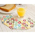Set of 4: Patterned Cup Mat 1596