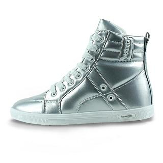 Picture of BSQT High-Top Metallic Sneakers 1021619725 (Sneakers, BSQT Shoes, Taiwan Shoes, Womens Shoes, Womens Sneakers)