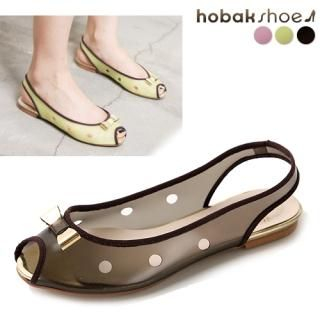 Buy HOBAK girls Bow Open-Toe Jelly Sandals 1022879395