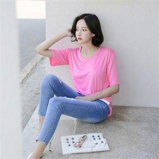 V-Neck Short-Sleeve T-Shirt 1060019361
