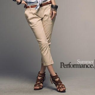 Buy PUFFY Pleated Cropped Pants 1023030359