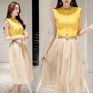 set-sleeveless-chiffon-top-accordion-skirt