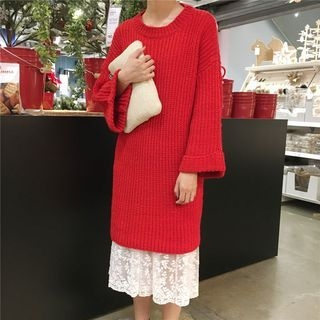 Ribbed Knit Dress 1056529983