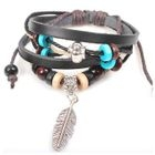 Feather Genuine Leather Bracelet от YesStyle.com INT