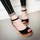 Peep-Toe Wedge Sandals от YesStyle.com INT