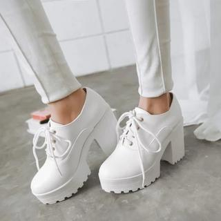 Heel Lace-up Shoes 1044035765