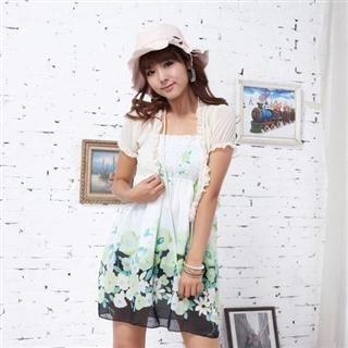 Buy doremi Floral Print Halter Dress 1022484424