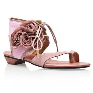 "Buy Smoothie Genuine Leather ""Corsage"" Sandals 1022580294"
