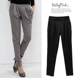 Buy Daily Pink Cropped Dress Pants 1022806600