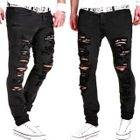 Distressed Straight-Leg Jeans 1596