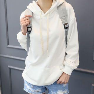 Hooded Kangaroo-Pocket Sweatshirt 1059500798