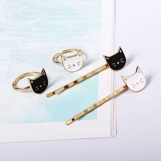 Cat Ring / Hair Clip